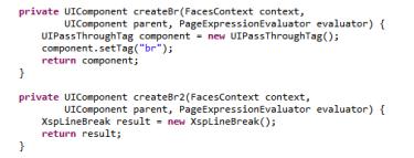 HTML vs XSP