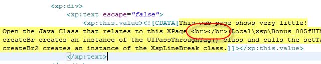 Proper Pass Thru HTML