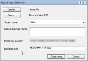 cross certify 3