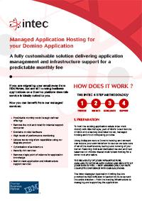 Download Managed Application Hosting Flyer