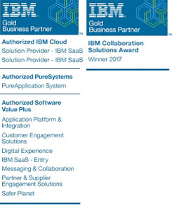 Intec Winners of the IBM Collaboration Solutions Award 2017
