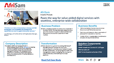 Collaboration and talent solutions case study