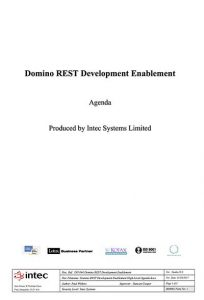 Domino-REST-Development-Training