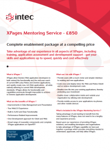 XPages Mentoring Package