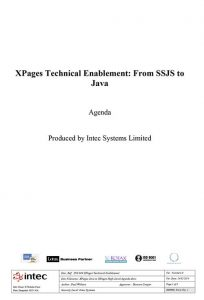 Xpages-and-Java-Training