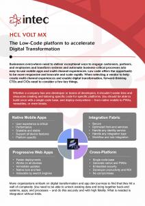 HCL Volt MX Infosheet