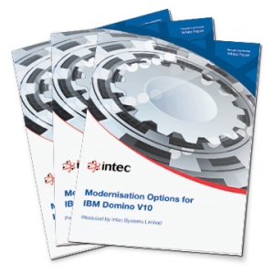 Modernisation Options for IBM Domino V10