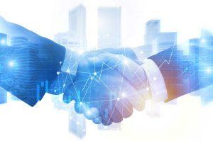 Digital hansshake - Intec acquire Orion